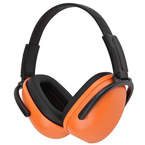 Yivibe Orange Noise Cancelling Ear Muffs, Soundproof Earmuffs, Ear Defenders,...