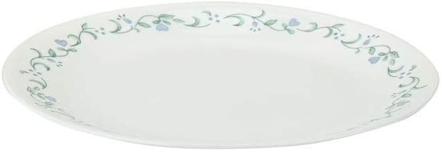 HomeStop Corelle Country Cottage Round Printed depot Quantity limited Dinner Plate Whi