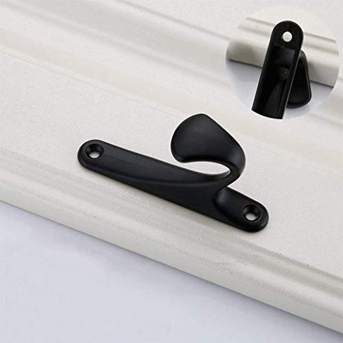 Geen logo SHENNJRR Handig Mode Wandmontage Deur Hanger Zink Legering Badkamer Jas Haak Tas Handdoek Rack