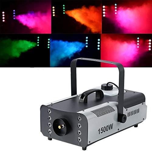 Tengchang 1500W Halloween Smoke Fog Machine 3in1 RGB Stage Fogger LED Stage Effect Remote DJ Show US