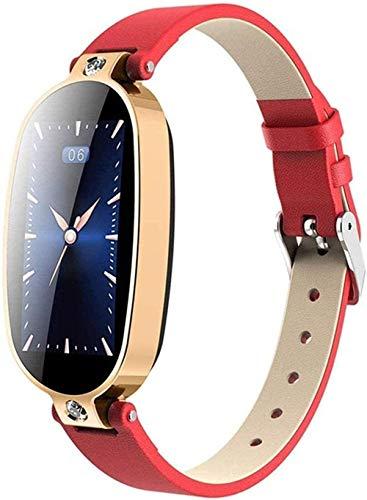 Smart Watch Smart Bracelet Fitness Tracker Blood Pressure Call Reminder Color Screen Health Waterproof Bluetooth Watch Women-Blue Silver-Blue Silver-Red Gold