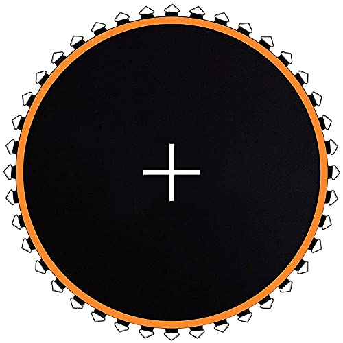 JumpTastic Replacement Trampoline Mat with 72 Pcs V-Ring, Fit 14FT Trampoline Frame Using 5.5in Spring(Not Include Spring | Mat s Diameter: 150in)