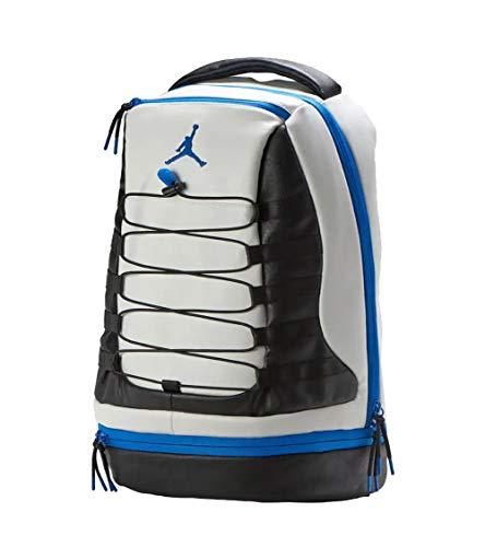 Nike Air Jordan Retro 10 Backpack (One Size, White/Blue)