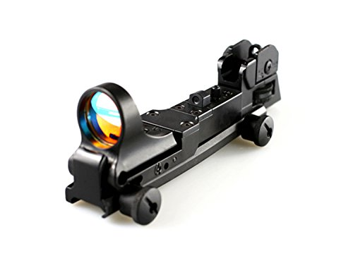 XWXS FIRECLUB Mechanical Tactical Red Dot Scope with Iron Sight