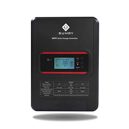 Contrôleur de charge solaire Sunray Power 30A MPPT 12V 24V 48V Max 200V PV
