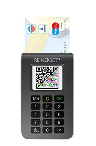 Reiner SCT tanJack photo QR I Chip Tan Generator for Online Banking