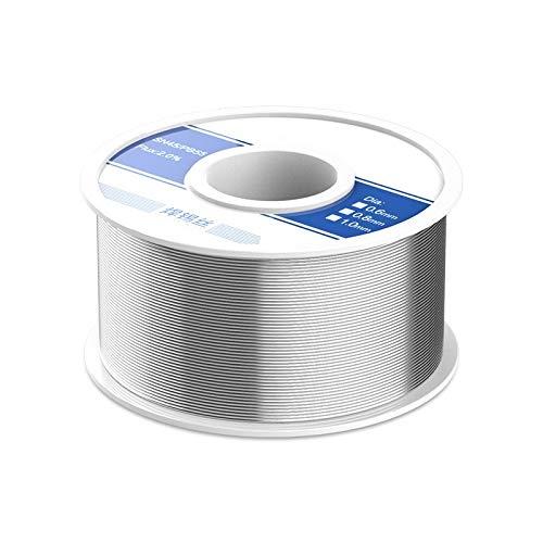 IQQI 0.8mm Lötdraht mit Blei (Zinn: 45% Flussmittel: 2%) Lötdraht für...