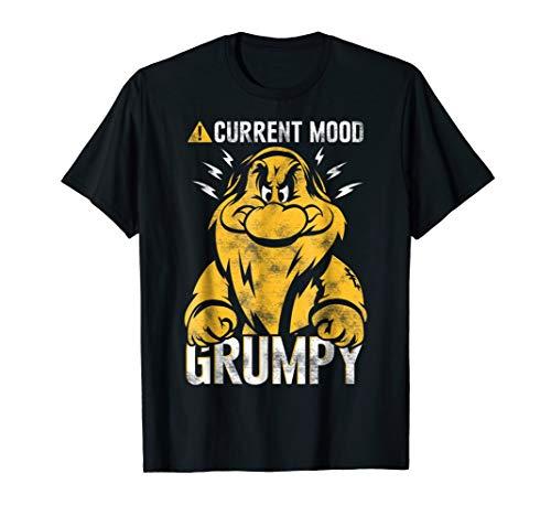 Disney Snow White Grumpy Mood Graphic T-Shirt