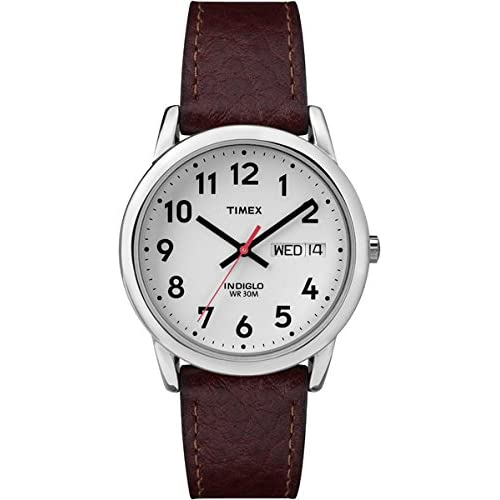 2d91dcbce Timex Men's Quartz Easy Reader Watch with Analogue Display and Stainless  Steel Bracelet
