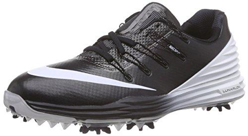 Nike Damen Lunar Control 4 Golfschuhe, Schwarz (Black/White/Wolf Grey 001), 38.5 EU