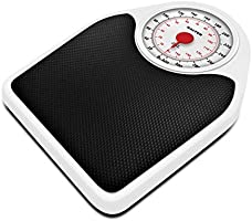 Salter Doctor Style Mechanical Bathroom Scales, Accurate Weighing In kg, st,lbs, Traditional Dial Face With Rotating...