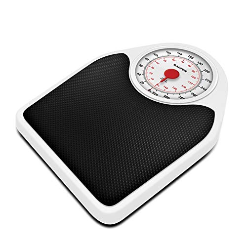 Salter Doctor Style Mechanical Bathroom Scales – Retro White + Black Accurate...