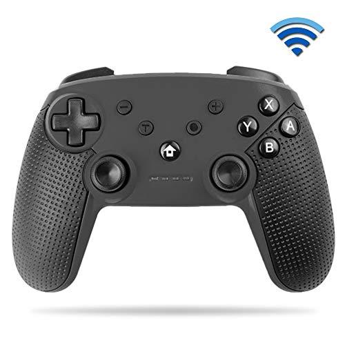 YiYunTE Mando Pro para Switch Controller Inalámbrico Pro para Switch Lite Controlador Bluetooth Batería Recargable 600mAh Gamepad Apoya NFC Vibración Turbo para Switch/Switch Lite
