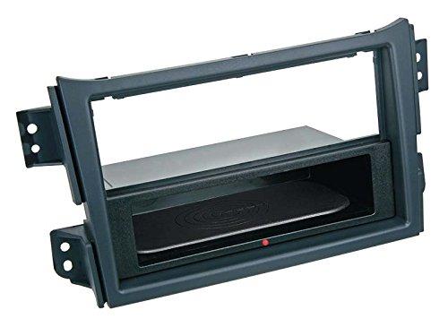 Adaptateur de façade 2-DIN Inbay® Suzuki Splash / Opel Agila noir