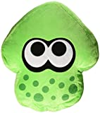 Nintendo Splatoon 2 14' Plush Pillow: Squid, Neon Green
