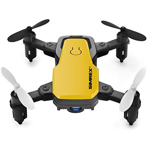 SIMREX X300C Mini Drone with WiFi HD FPV Camera Foldable RC Quadcopter
