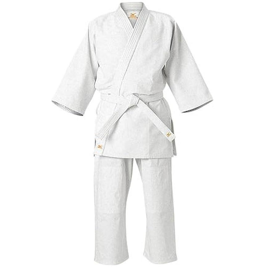 レバー見込み高さミズノ 授業用 柔道着 柔道衣 上下白帯セット 愛校