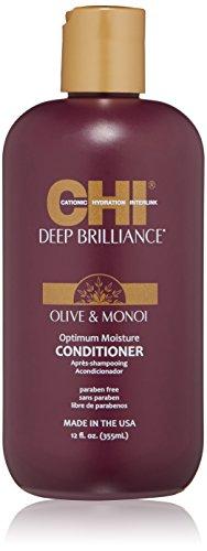 CHI Deep Brilliance Olive/Monoi Optimum Moisture Conditionner 355 ml