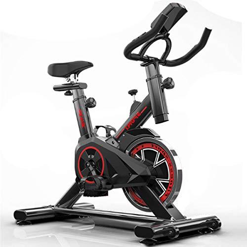 Exercise Cycling Bike, Professional Indoor Fitness, verstelbaar met LCD-scherm, Workout trainingstoestellen, comfortabele stoel Kussen Zadel voor thuiskantoor Gym