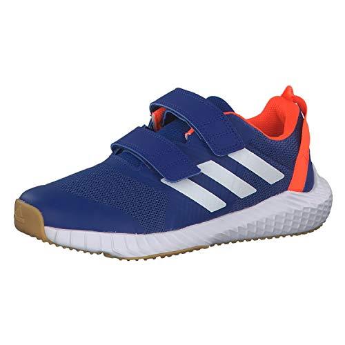 adidas Unisex-Kinder Fortagym Cf K Traillaufschuhe, Blau (Reauni/Ftwbla/Narsol 000), 28.5 EU
