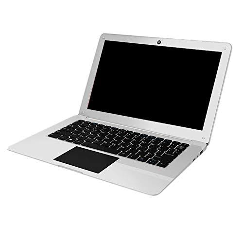 Nrpfell Z8350-12.5 Pulgadas Quad-Core Win10 System 4G + 64GB Netbook PortáTil Adecuado para Viajes de Estudio Diarios en la Oficina (Enchufe de la UE)
