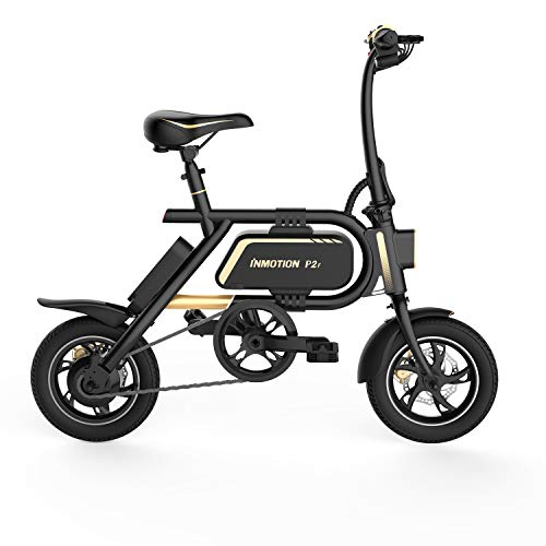 InMotion P2F Patinete eléctrico, Unisex-Adult, Negro, 1020x1050x480mm