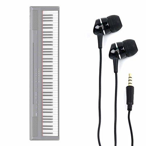 DURAGADGET Auriculares para Teclado/Piano Eléctrico Yamaha NP-V80 NPV-80, Yamaha P-105B, Yamaha P-115B,...
