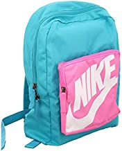 Nike Kids Classic Backpack, One Size - Turquoise/Pink