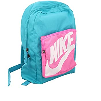Nike Kids Classic Backpack One Size - Turquoise/Pink