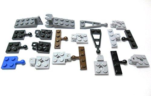 LEGO CITY - 10 Paar Anhängerkupplungen in verschiedenen Farben. Lieferung erfolgt wie abgebildet.
