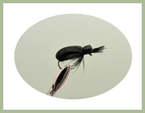 confezione da 12 Corpo Beige KLINKHAMMER Trote Mosche pesca Mosche 12//14//16//18 misti