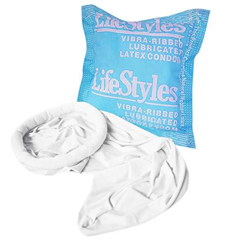 Personalisierte Mehrzweck-Kondom-Verpackungsform Kissen und Kondom-Schlafsack Kondomverpackungsform Kissen Kondom Schlafsack Blau Rosa (Blau)