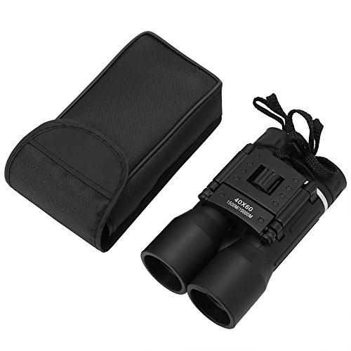 Dilwe Optisches Fernglas HD, 40 x 60 Hochleistungs Nachtsicht Faltteleskop Outdoor Fernglas für Jagd, Vogelbeobachtung, Reisen, Wandern