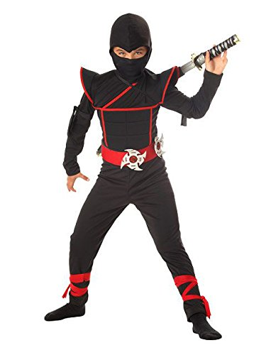 California Costumes Boys Stealth Ninja Child Costume