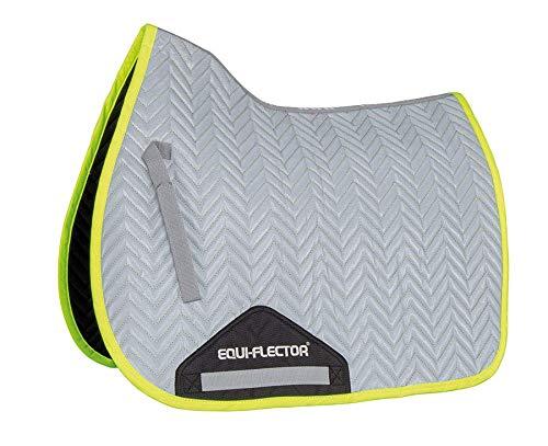 Equi-Flector Reflektierende Schabracke – gelber Rand