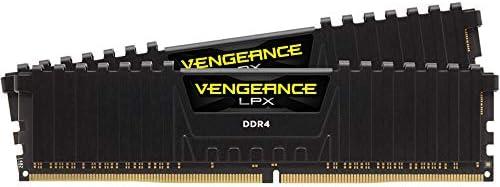 Corsair Vengeance LPX 16Go (2x8Go) DDR4 3200MHz C16 XMP 2.0 Kit de Mémoire Haute Performance - Noir