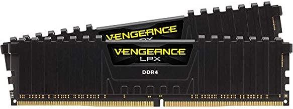 Corsair Vengeance LPX 16GB (2x8GB) DDR4 DRAM 3200MHz C16 Desktop Memory Kit - Black (CMK16GX4M2B3200C16),Vengeance LPX Black