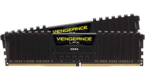 Image of Corsair Vengeance LPX 16GB (2x8GB) DDR4 DRAM 3200MHz C16 Desktop Memory Kit - Black (CMK16GX4M2B3200C16): Bestviewsreviews