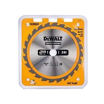DeWalt DT1956-QZ - Hoja para construcción 250x30mm 24D