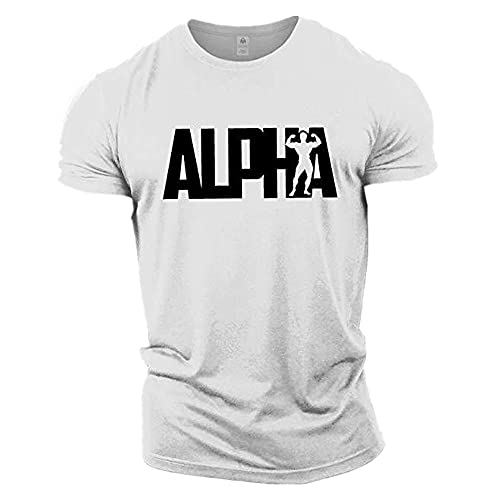 Camiseta de hombre para deporte, ejercicio, ocio y fitness