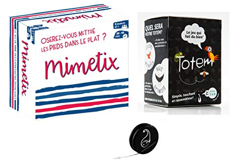 Blumie Shop Set di 2 Giochi: Mimetix e Totem + 1 Yoyo