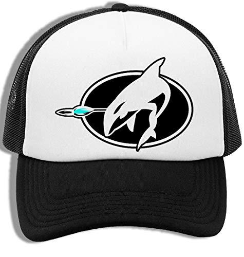 Ballena Logo - Soldado Americano Joe Gorra De Béisbol para Hombre y Mujer con Malla Trasera Mens Womens Baseball Cap Mesh Back