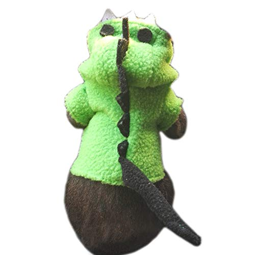 Alfie Pet - Ellery Dinosaur Costume for Small Animals Like Dwarf Hamster and Mouse