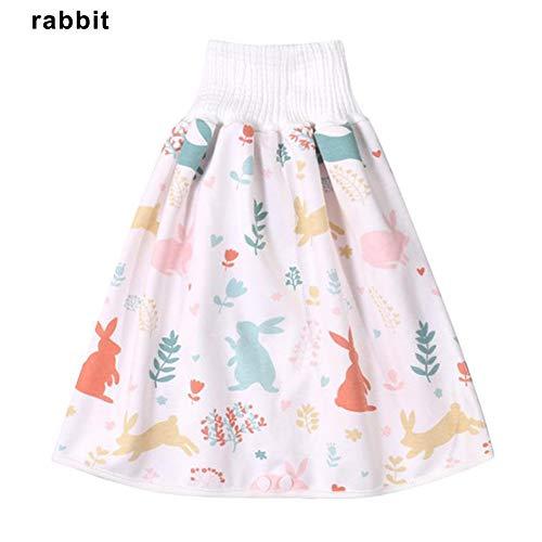 mingtian Bequeme Kinderwindel Rock Shorts 2 in 1 wasserdichte superabsorbierende auslaufsichere waschbare Babywindeln Rockhose
