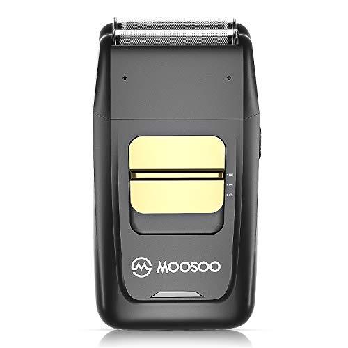 Electric Razor for Men MOOSOO Electric Foil Shaver Two Speeds MultiPurpose Shaver USB Rechargeable Cordless Wet Dry Shaver Ideal for Men'S Beard Shaving amp Hair Shaving 110240V  G10