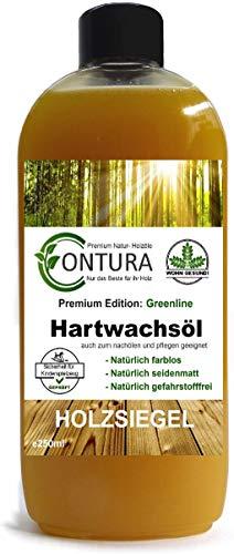 Contura Premium Hartwachsöl Greenline Holzpflegeöl Hartwachs Holzpflege Holzöl Tisch Arbeitsplatten Möbelöl Holzschutz nachölen auffrischen pflegen Pflegemittel