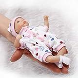 Munecas Bebes Reales, Mini Palm Small Doll Simulation Reborn Baby Pocket Doll, 20CM / 7.8 Pulgadas Realista Muñecas Reborn (Color : B)