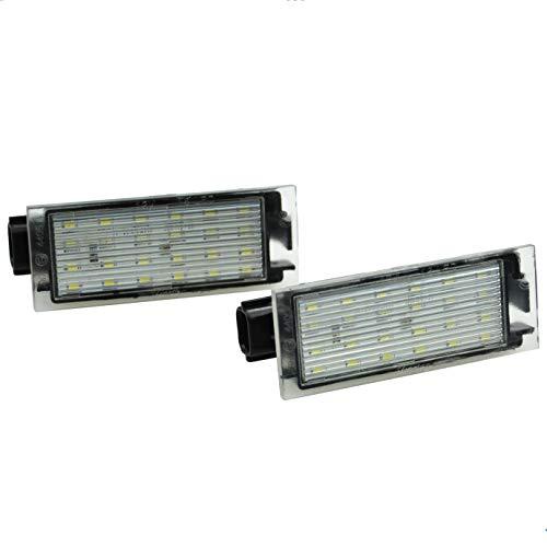 Preisvergleich Produktbild BLUETECH® PREMIUM LED Kennzeichenbeleuchtung Kennzeichenleuchte (Zugelassen,  E-Prüfzeichen)