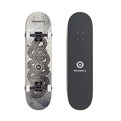 MINORITY 32inch Maple Skateboard (Snake)