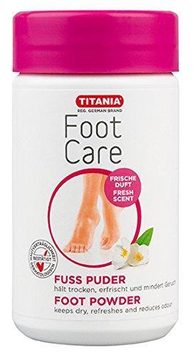 Poudre de talc de pied Titania (100g)